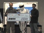 The Stig points out which groupies he wants to give backstage passes to